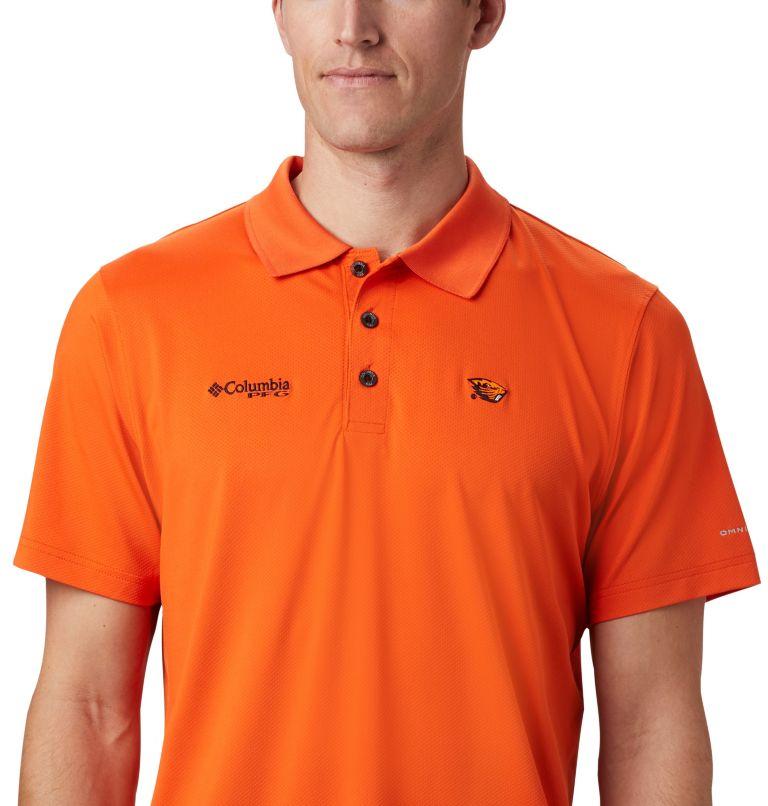 CLG Skiff Cast™ Polo | 820 | XL Men's Collegiate Skiff Cast™ Polo - Oregon State, OSU - Tangy Orange, a1