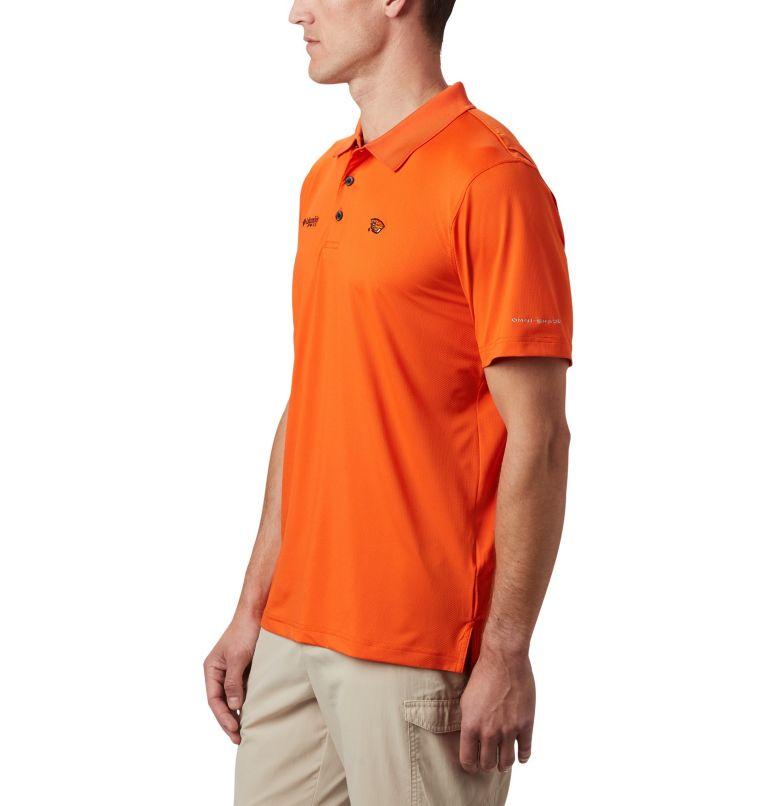 CLG Skiff Cast™ Polo | 820 | XL Men's Collegiate Skiff Cast™ Polo - Oregon State, OSU - Tangy Orange, a2