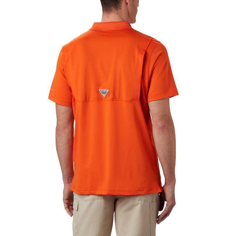 CLG Skiff Cast™ Polo | 820 | XL Men's Collegiate Skiff Cast™ Polo - Oregon State, OSU - Tangy Orange, back