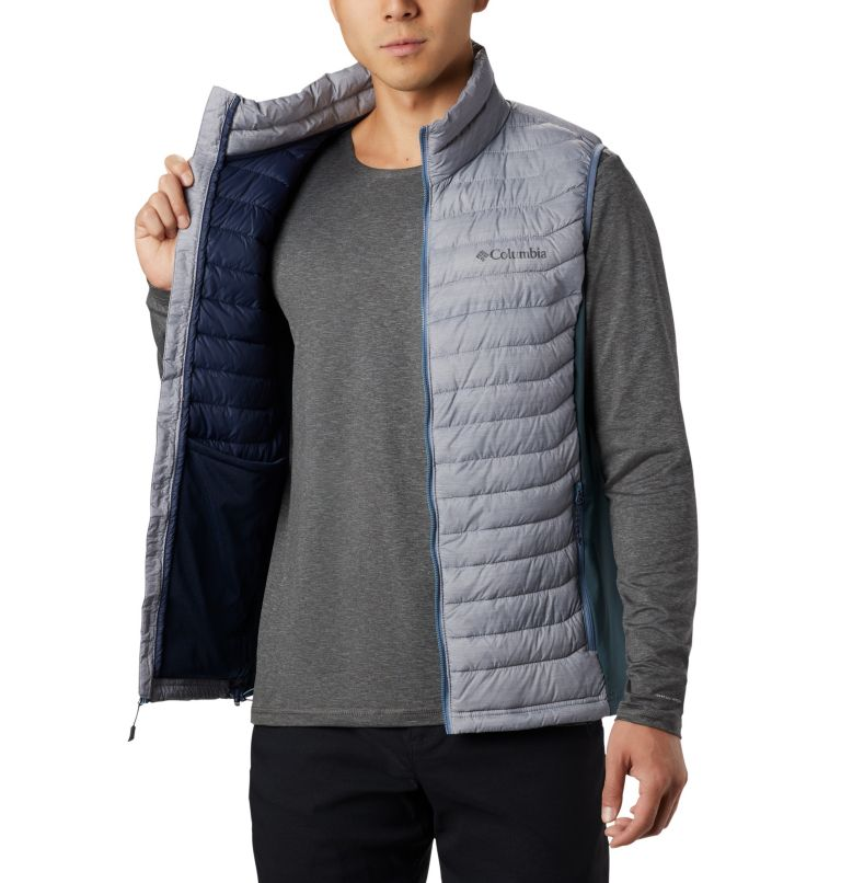 Powder Pass™ Vest | 039 | M Men's Powder Pass™ Vest, Columbia Grey Heather, Mountain, a2