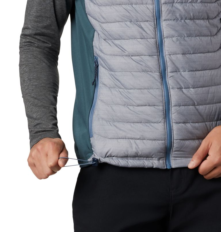 Powder Pass™ Vest | 039 | M Men's Powder Pass™ Vest, Columbia Grey Heather, Mountain, a3