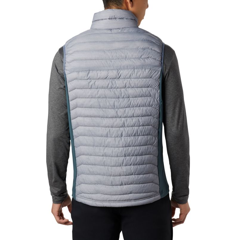 Powder Pass™ Vest | 039 | M Men's Powder Pass™ Vest, Columbia Grey Heather, Mountain, back