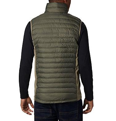Men's Powder Pass™ Vest Powder Pass™ Vest | 039 | L, New Olive Heather, Sage, back