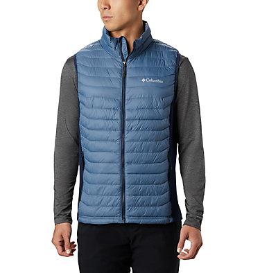 Men's Powder Pass™ Vest Powder Pass™ Vest | 039 | L, Mountain, Collegiate Navy, front