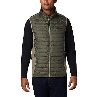Men's Powder Pass™ Vest—Big Powder Pass™ Vest   039   1X, New Olive Heather, Sage, front