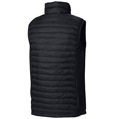 Men's Powder Pass™ Vest—Tall Powder Pass™ Vest   039   2XT, Black, back