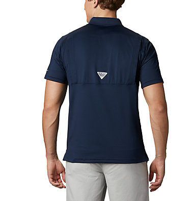 Men's NFL PFG Skiff Cast™ Polo NFL Skiff Cast™ Polo | 464 | L, DC - Collegiate Navy, back