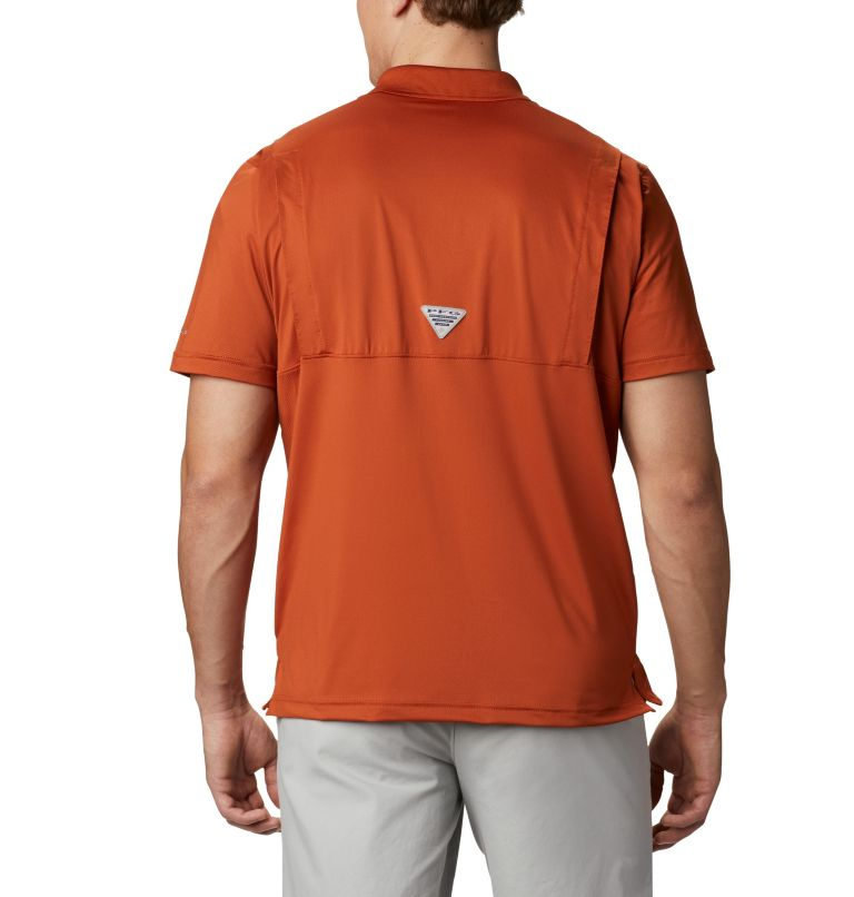 Men's NFL PFG Skiff Cast™ Polo - Texas Men's NFL PFG Skiff Cast™ Polo - Texas, back
