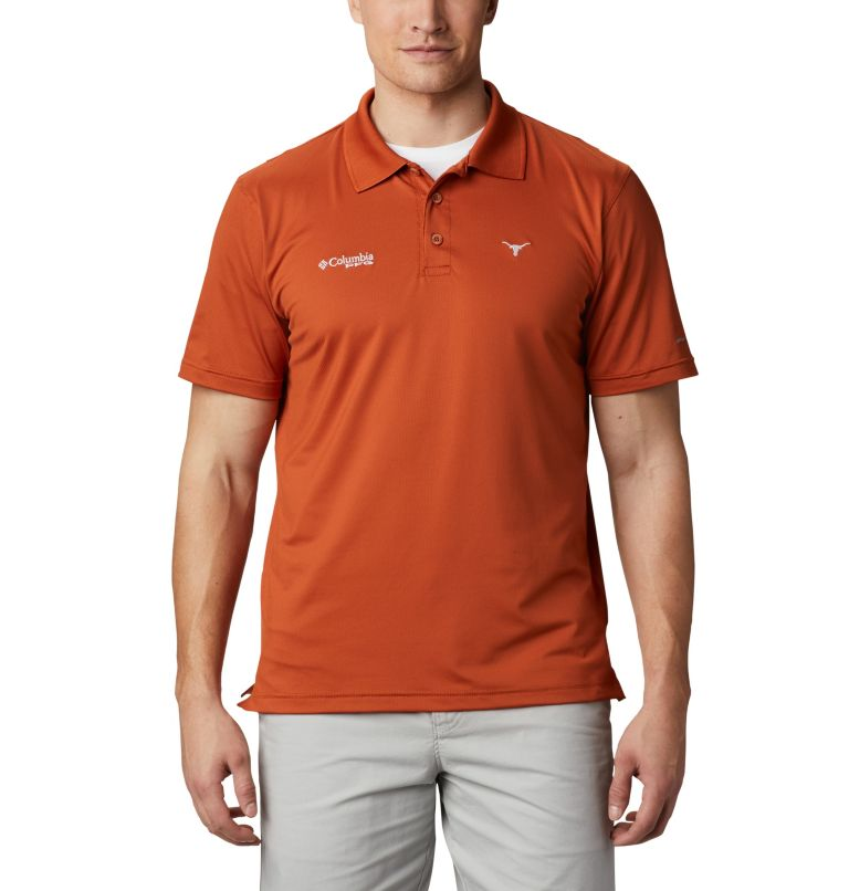 Men's NFL PFG Skiff Cast™ Polo - Texas Men's NFL PFG Skiff Cast™ Polo - Texas, front