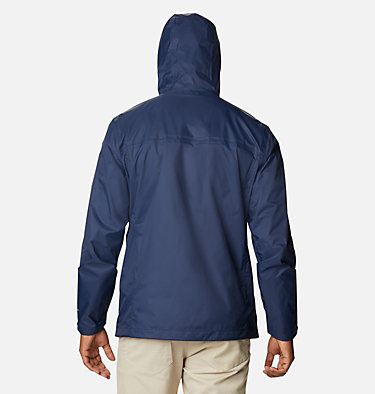 Men's Collegiate Watertight™ II Jacket - Notre Dame CLG Watertight™ II Jacket | 430 | M, ND - Collegiate Navy, back