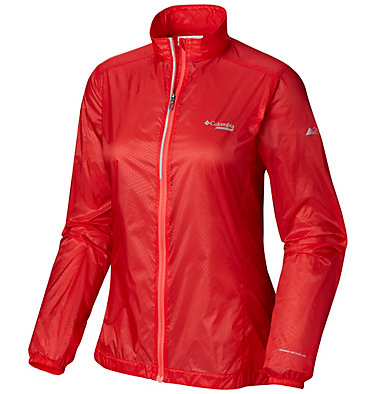 Giacca a vento F.K.T.™ da donna F.K.T.™ Wind Jacket   646   L, Cherrybomb, Red Coral, front