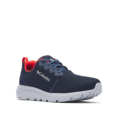 Men's Backpedal™ OutDry™ Shoe BACKPEDAL™ OUTDRY™ | 011 | 10, Collegiate Navy, Fiery Red, 3/4 front
