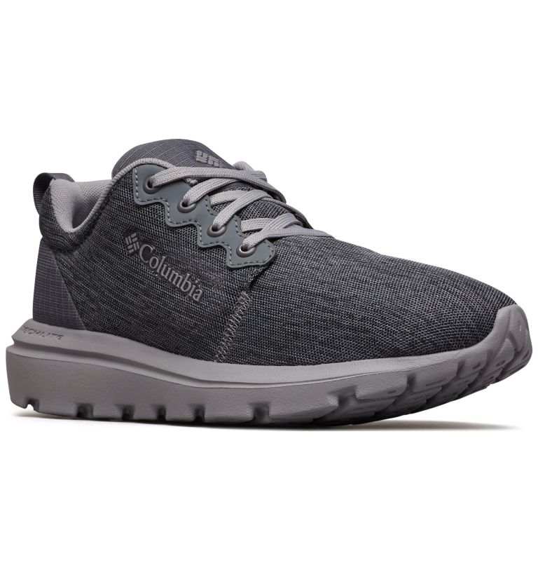 BACKPEDAL™ | 053 | 10 Women's BACKPEDAL™ Sneaker Shoe, Graphite, Monument, 3/4 front