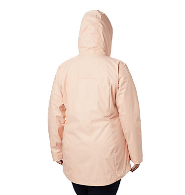 Women's Arcadia™ Casual Jacket—Plus Size Arcadia™ Casual Jacket | 466 | 1X, Peach Cloud, back
