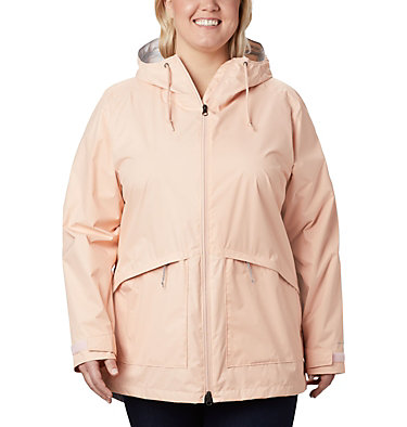 Women's Arcadia™ Casual Jacket—Plus Size Arcadia™ Casual Jacket | 466 | 1X, Peach Cloud, front
