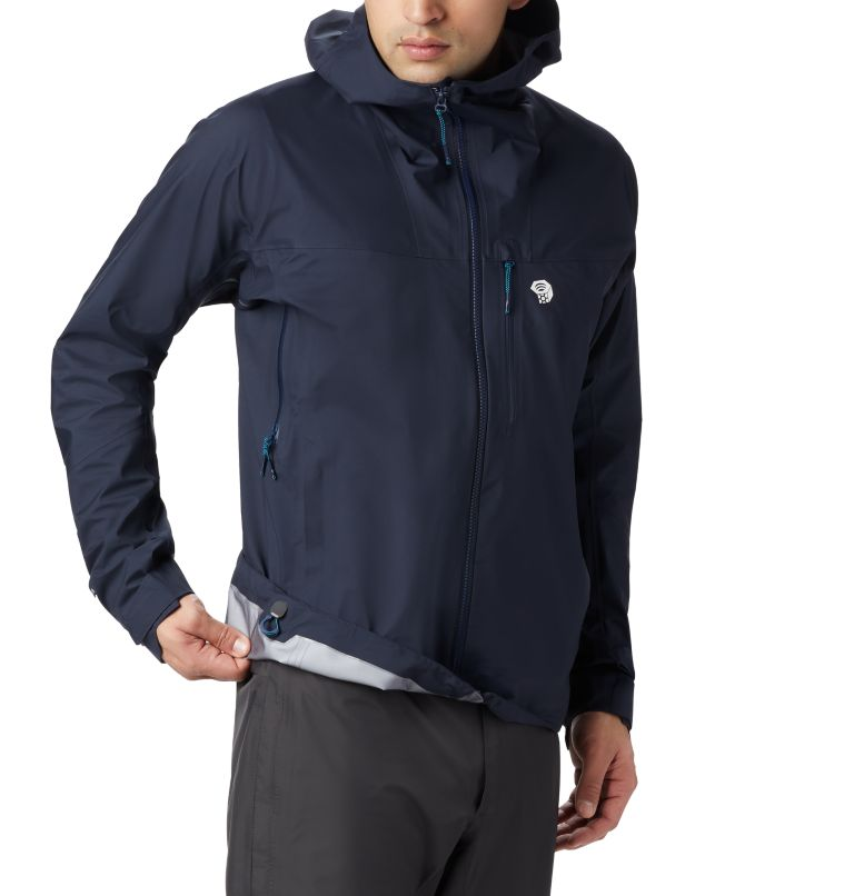 Exposure/2™ Gore-Tex® Active Jacket | 407 | M Men's Exposure/2™ Gore-Tex® 3L Active Jacket, Dark Zinc, a4