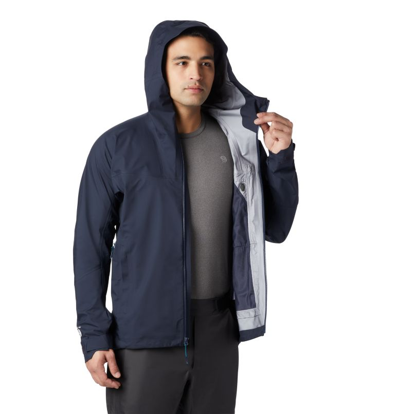 Exposure/2™ Gore-Tex® Active Jacket | 407 | M Men's Exposure/2™ Gore-Tex® 3L Active Jacket, Dark Zinc, a5