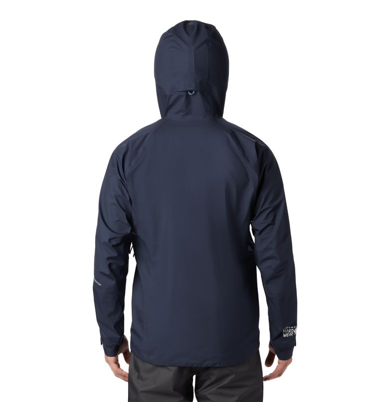 Exposure/2™ Gore-Tex® Active Jacket | 407 | M Men's Exposure/2™ Gore-Tex® 3L Active Jacket, Dark Zinc, back