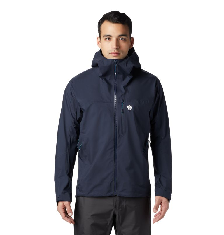 Exposure/2™ Gore-Tex® Active Jacket | 407 | M Men's Exposure/2™ Gore-Tex® 3L Active Jacket, Dark Zinc, front
