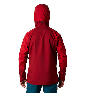 Men's Exposure/2™ Gore-Tex® 3L Active Jacket Exposure/2™ Gore-Tex® Active Jacket | 443 | L, Dark Brick, back