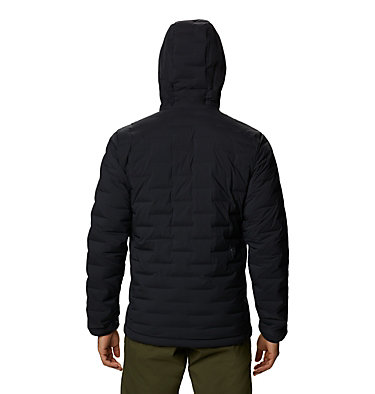 Men's Super/DS™ Stretchdown Hooded Jacket Super/DS™ Stretchdown Hooded Jacket | 629 | L, Black, back