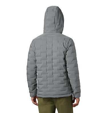 Men's Super/DS™ Stretchdown Hooded Jacket Super/DS™ Stretchdown Hooded Jacket | 629 | L, Manta Grey, back