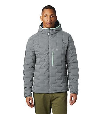 Men's Super/DS™ Stretchdown Hooded Jacket Super/DS™ Stretchdown Hooded Jacket | 629 | L, Manta Grey, front