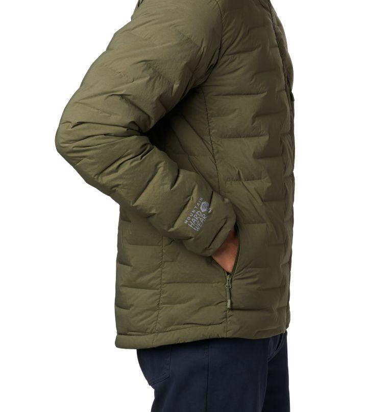 Super/DS™ Stretchdown Hooded Jacket | 304 | S Men's Super/DS™ Stretchdown Hooded Jacket, Dark Army, a1