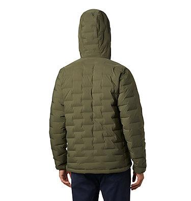 Men's Super/DS™ Stretchdown Hooded Jacket Super/DS™ Stretchdown Hooded Jacket | 629 | L, Dark Army, back