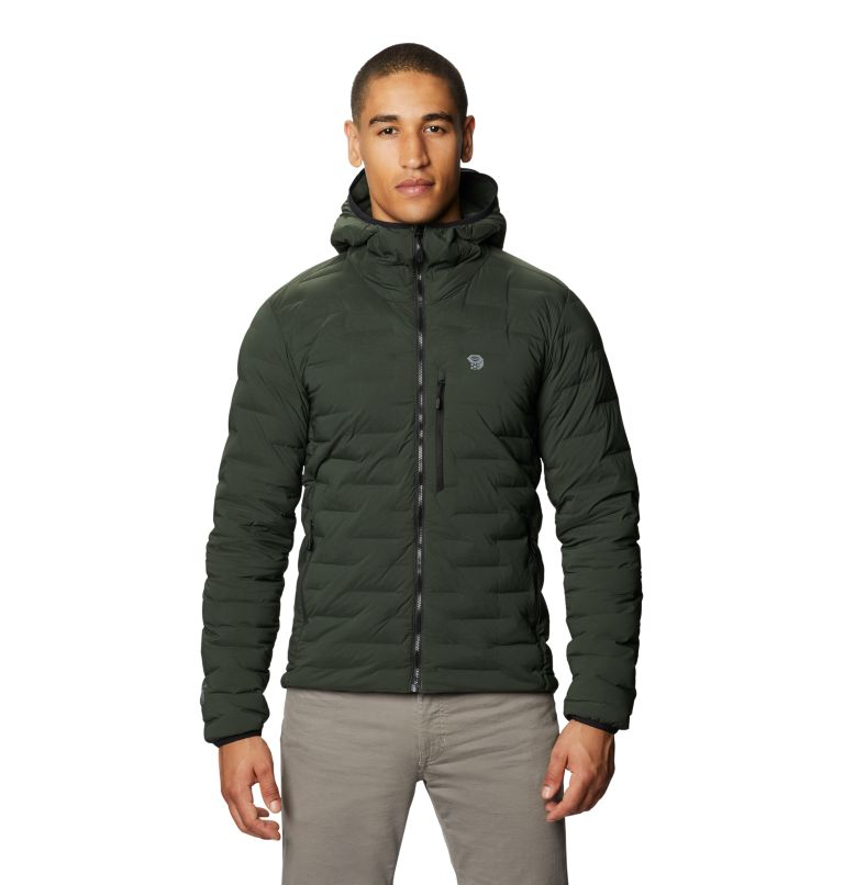 Men's Super/DS™ Stretchdown Hooded Jacket Men's Super/DS™ Stretchdown Hooded Jacket, front
