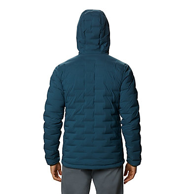 Men's Super/DS™ Stretchdown Hooded Jacket Super/DS™ Stretchdown Hooded Jacket | 629 | L, Icelandic, back