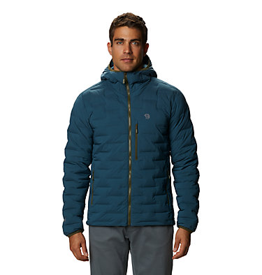 Men's Super/DS™ Stretchdown Hooded Jacket Super/DS™ Stretchdown Hooded Jacket | 629 | L, Icelandic, front
