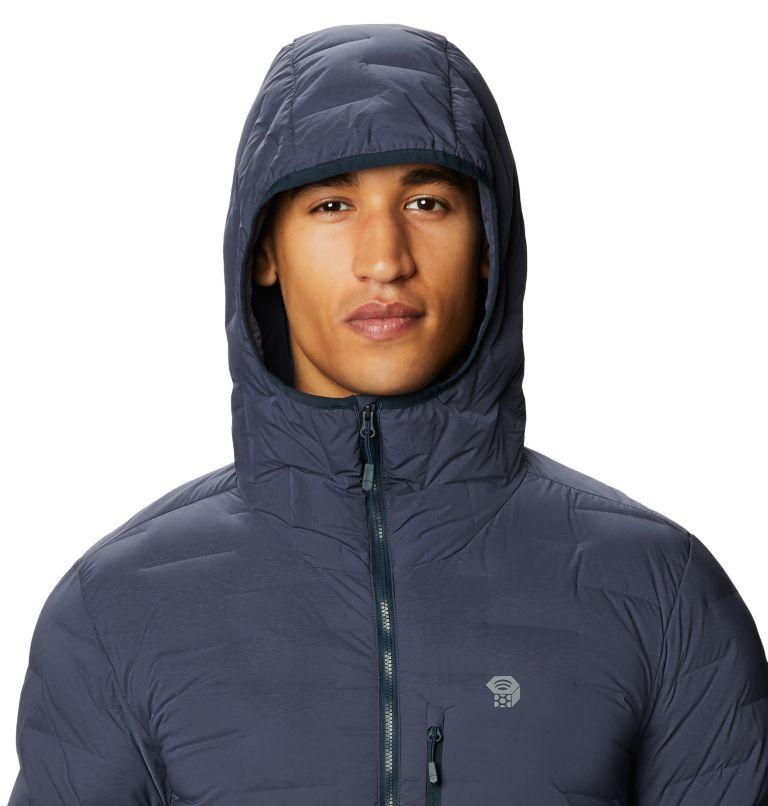 Super/DS™ Stretchdown Hooded Jacket | 406 | XXL Men's Super/DS™ Stretchdown Hooded Jacket, Dark Zinc, a2