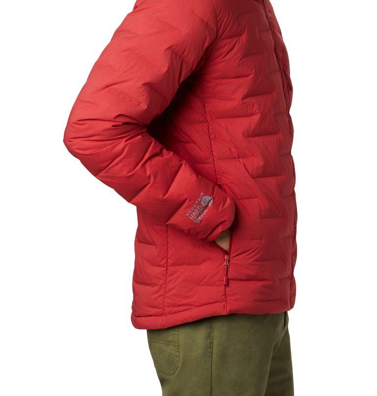 Super/DS™ Stretchdown Hooded Jacket | 603 | XXL Men's Super/DS™ Stretchdown Hooded Jacket, Dark Brick, a2