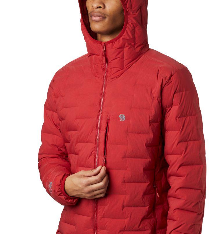 Super/DS™ Stretchdown Hooded Jacket | 603 | M Men's Super/DS™ Stretchdown Hooded Jacket, Dark Brick, a3