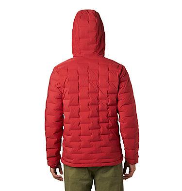 Men's Super/DS™ Stretchdown Hooded Jacket Super/DS™ Stretchdown Hooded Jacket | 629 | L, Dark Brick, back