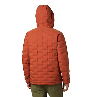Men's Super/DS™ Stretchdown Hooded Jacket Super/DS™ Stretchdown Hooded Jacket | 629 | L, Rusted, back
