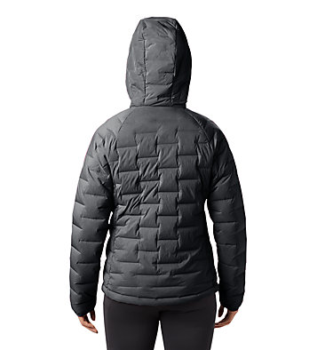 Women's Super/DS™ Stretchdown Hooded Jacket Super/DS™ Stretchdown Hooded Jacket | 599 | L, Dark Storm, back
