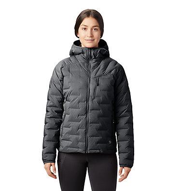 Manteau à capuchon Super/DS™ Stretchdown Femme Super/DS™ Stretchdown Hooded Jacket | 599 | L, Dark Storm, front