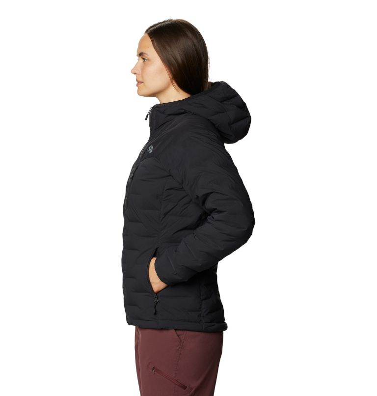 Super/DS™ Stretchdown Hooded Jacket | 010 | S Women's Super/DS™ Stretchdown Hooded Jacket, Black, a1