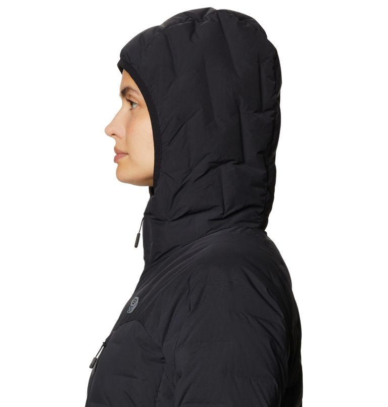 Super/DS™ Stretchdown Hooded Jacket | 010 | S Women's Super/DS™ Stretchdown Hooded Jacket, Black, a3