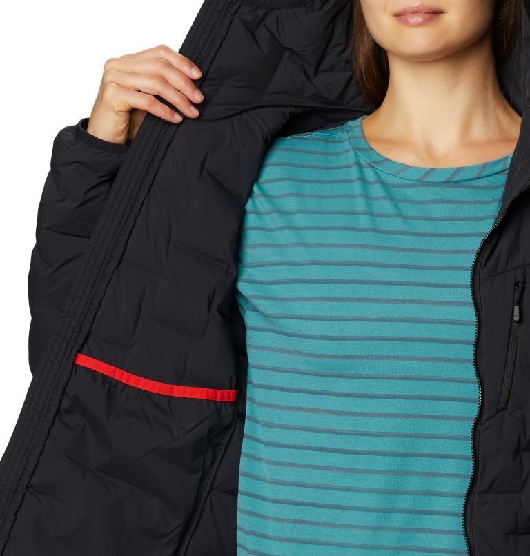 Super/DS™ Stretchdown Hooded Jacket | 010 | S Women's Super/DS™ Stretchdown Hooded Jacket, Black, a5