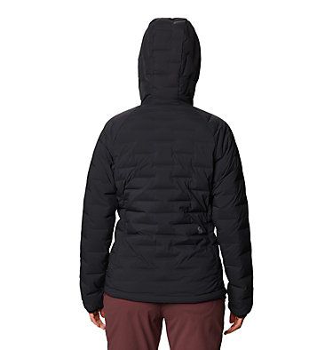 Women's Super/DS™ Stretchdown Hooded Jacket Super/DS™ Stretchdown Hooded Jacket | 599 | L, Black, back