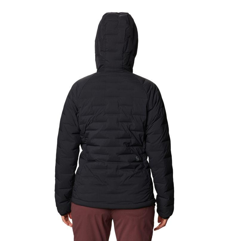 Super/DS™ Stretchdown Hooded Jacket | 010 | S Women's Super/DS™ Stretchdown Hooded Jacket, Black, back