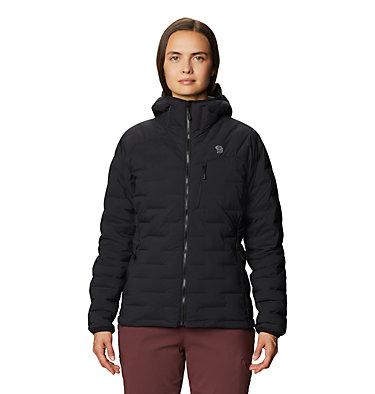 Manteau à capuchon Super/DS™ Stretchdown Femme Super/DS™ Stretchdown Hooded Jacket | 599 | L, Black, front