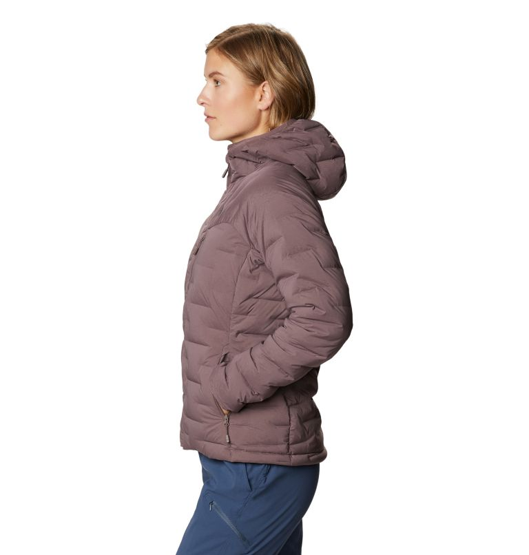 Women's Super/DS™ Stretchdown Hooded Jacket Women's Super/DS™ Stretchdown Hooded Jacket, a1