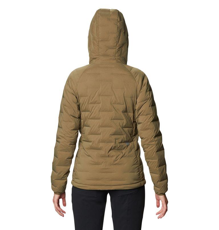 Super/DS™ Stretchdown Hooded Jacket | 253 | M Women's Super/DS™ Stretchdown Hooded Jacket, Raw Clay, back
