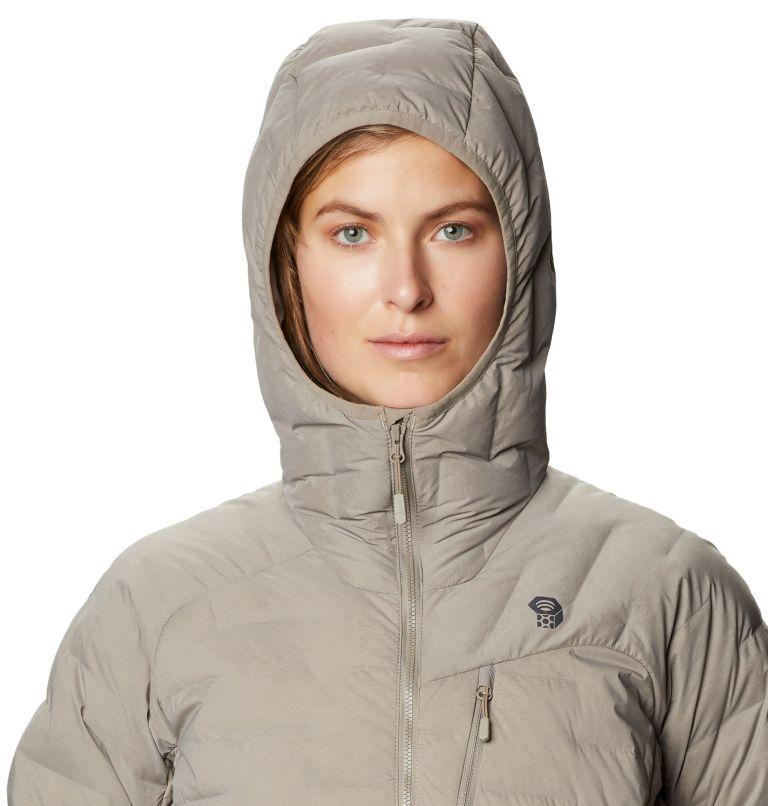 Super/DS™ Stretchdown Hooded Jacket | 262 | M Women's Super/DS™ Stretchdown Hooded Jacket, Dunes, a2