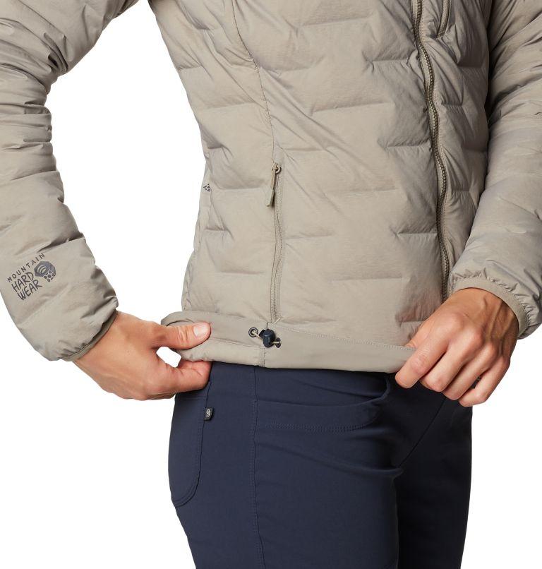 Super/DS™ Stretchdown Hooded Jacket | 262 | M Women's Super/DS™ Stretchdown Hooded Jacket, Dunes, a3