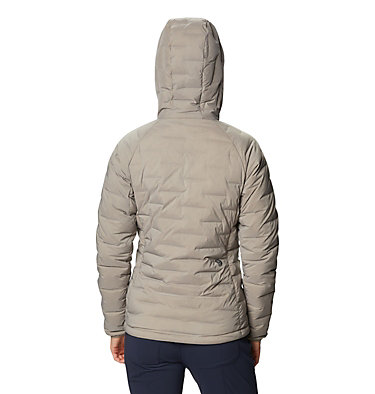 Women's Super/DS™ Stretchdown Hooded Jacket Super/DS™ Stretchdown Hooded Jacket | 599 | L, Dunes, back